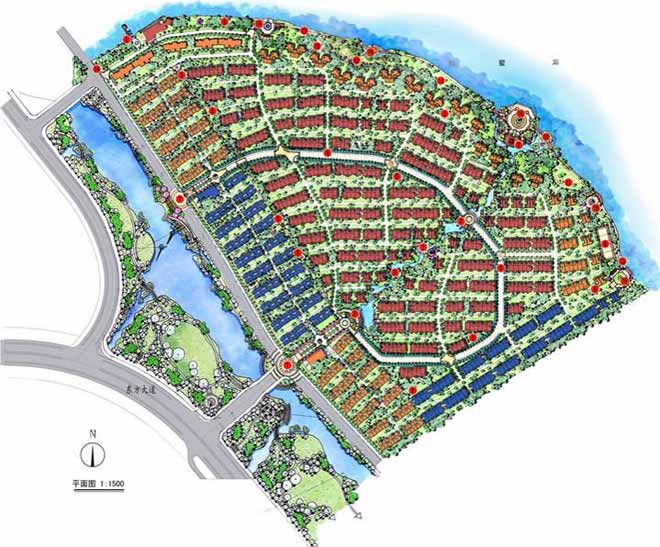 苏州中海独墅湖别墅景观设计