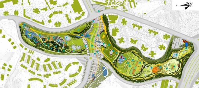 重庆儿童公园景观设计