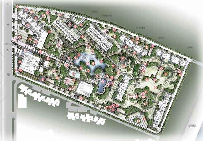 杭州朗诗国际街区景观设计