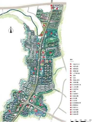 济南市中海国际社区规划设计