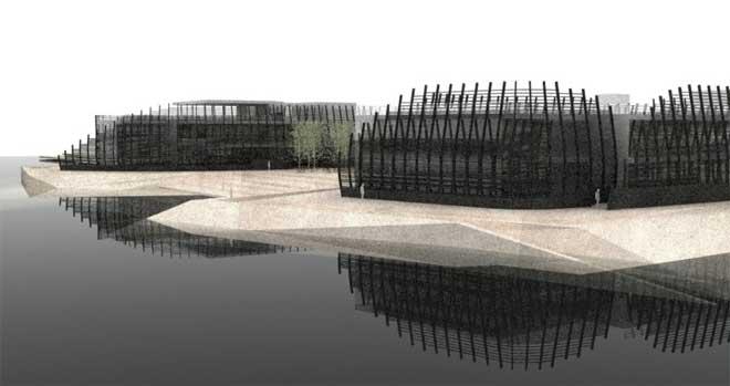 漳州碧湖生态园建筑设计
