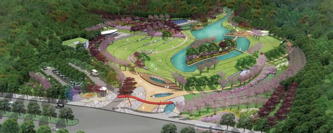长沙桃花岭入口公园景观设计