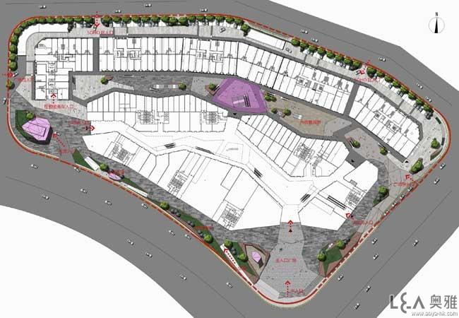 福州泰禾城市广场景观方案设计