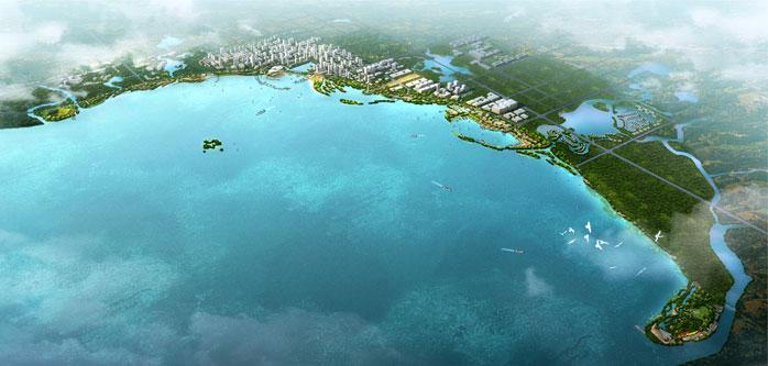 喜讯:合肥滨湖公园景观设计竞标成果荣获第一名