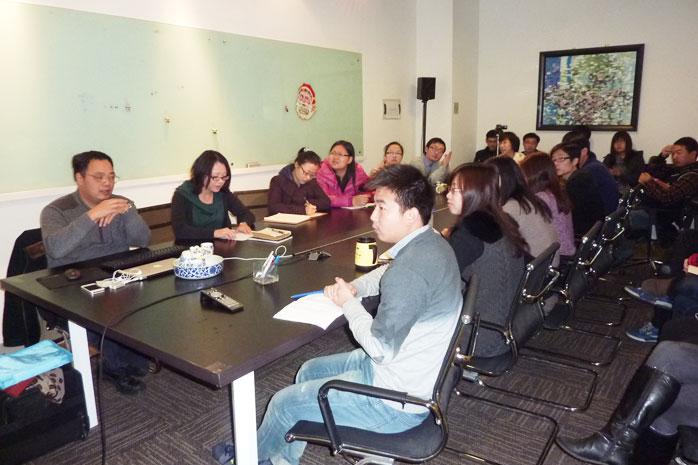 浙江农林大学园林院院长包志毅教授莅临奥雅设计集团讲学