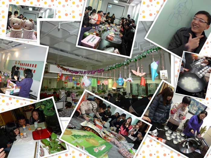 2012奥雅设计集团上海公司元宵节