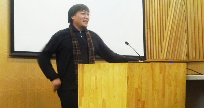 李寶章先生應邀于中央美術學院舉行講座