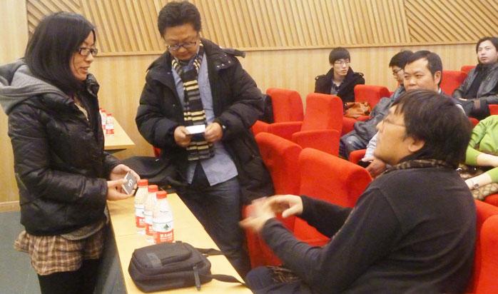李宝章先生应邀于中央美术学院举行讲座