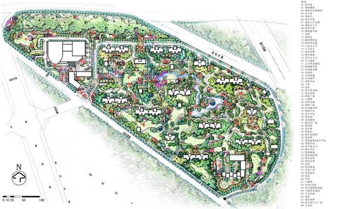 无锡中邦城市花园景观设计