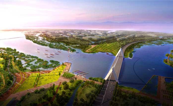 【组图】漳州东山南北港生态湿地公园景观概念规划设计方案--奥雅设计