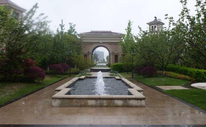 蘇州中海獨墅湖別墅景觀設計