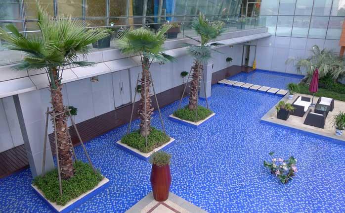 武汉世茂锦绣长江希尔顿酒店及售楼处景观设计