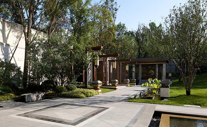 新中式院子设计