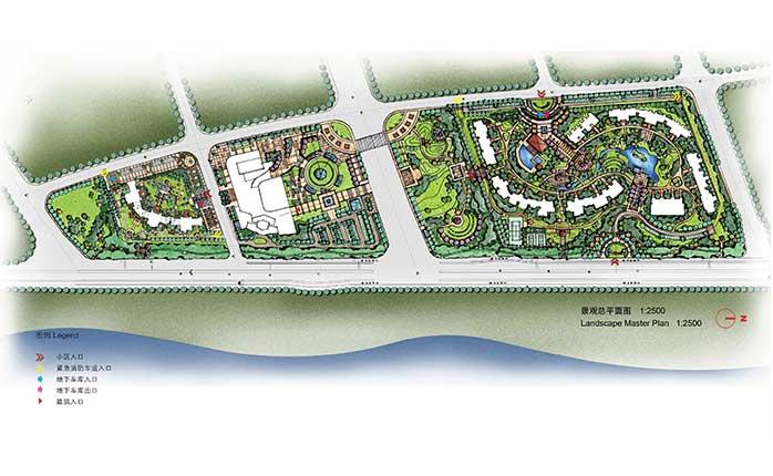 泉州鲤景湾售楼处及2#地块景观设计