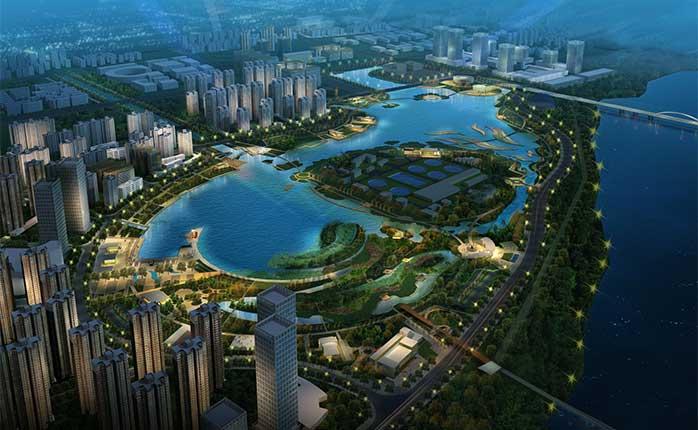 漳州市碧湖市民生态公园景观设计