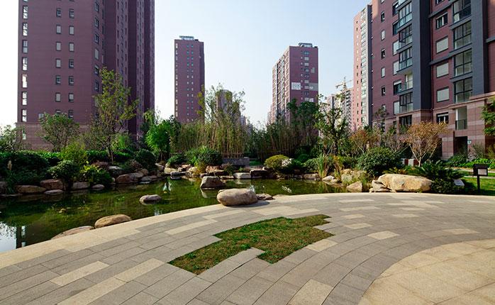 南京朗诗绿色街区景观设计