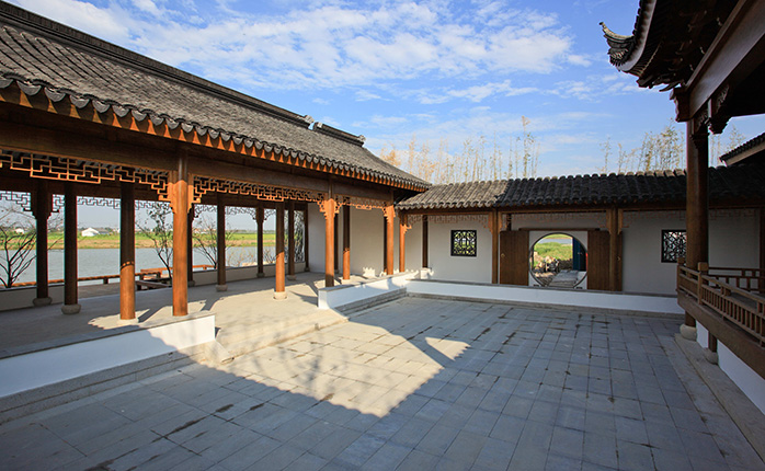 昆山锦溪岛尚项目景观设计