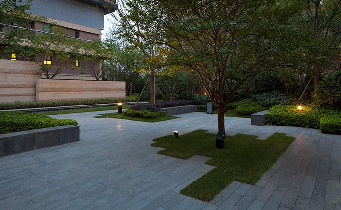 南京万科九都荟项目景观设计