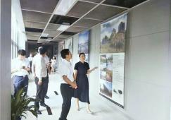南昌市市委常委龙和南及东湖区区委书记刘闯一行到访奥雅设计深圳总部