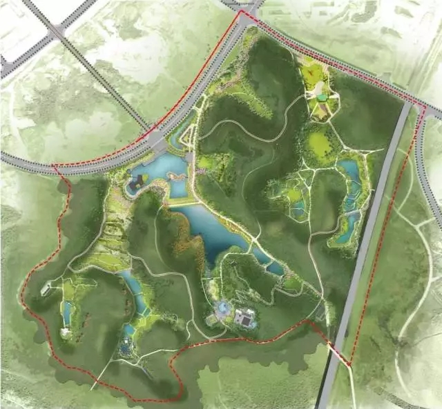 奥雅中标长沙雨花健康小镇清泉公园景观规划项目