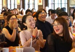 """真""""橙""""跨越十五载,创新迎接每一天丨奥雅设计上海公司15周年庆欢聚派对"""