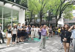 武汉东湖学院环艺专业学生到访奥雅设计