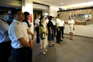 桂林市资源县党政代表团一行到访奥雅考察交流