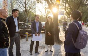 北京市妇儿工委、市规划院一行到访奥雅考察交流